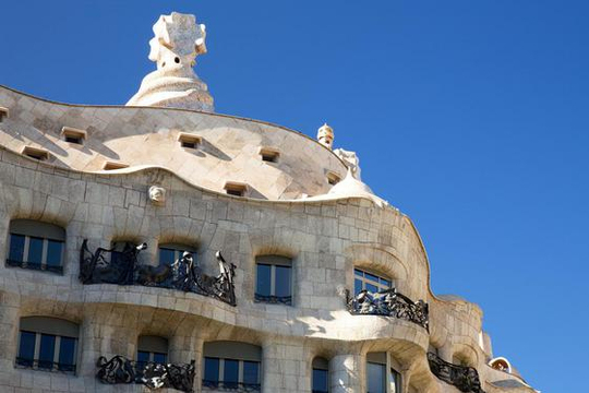 Casa Mila, Barcelona, ©Getty images